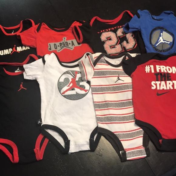 fdbf65fc3a29b9 Jordan Other - Lot of 8 Jordan Nike onesies size 0-3 months  6